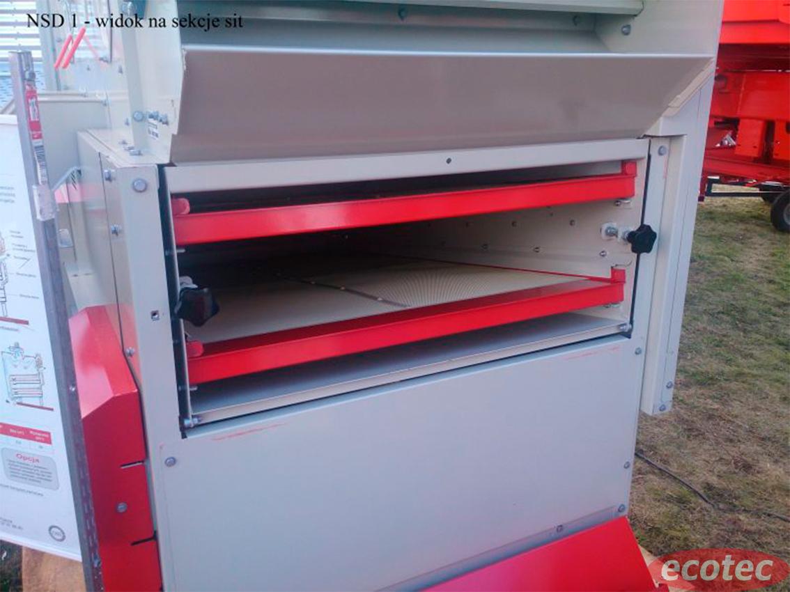 Машина для очистки зерна от компании Экотек технолоджи